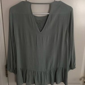 Francesca's Collections Tops - Green blouse from Francesca's